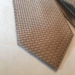 Michael Kors Silk Tie - Gold